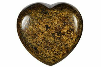 "Buy 1.6"" Polished Bronzite Heart - #115927"