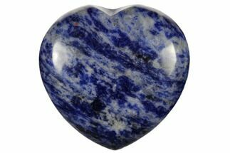 "Buy 1.6"" Polished Sodalite Heart - #115930"