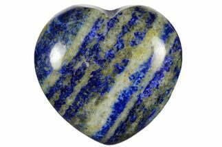 "1.6"" Polished Lapis Lazuli Heart For Sale, #115931"