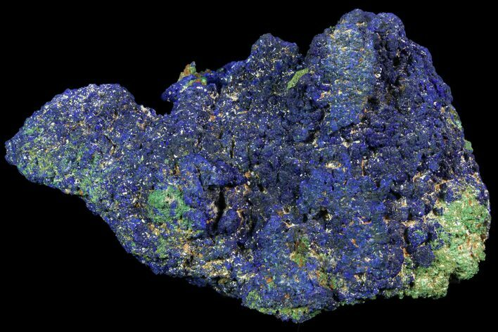 "5"" Azurite and Malachite Crystal Cluster - Congo"