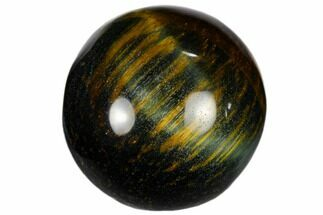 ".9"" Polished Blue Tiger's Eye Sphere For Sale, #116258"