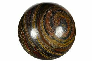 "1.2"" Polished Tiger Iron Sphere For Sale, #116267"