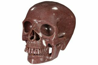 "Buy 4.9"" Realistic, Polished Purple Aventurine Skull  - #116464"