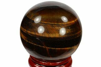 "1.6"" Polished Red Tiger's Eye Sphere - South Africa For Sale, #116081"