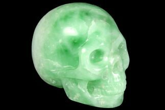 "Buy 1.9"" Realistic, Polished Jade (Nephrite) Skull - #116851"