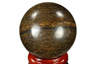 "Buy 1.6"" Polished Bronzite Sphere - Brazil - #115981"