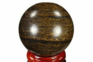 "Buy 1.6"" Polished Bronzite Sphere - Brazil - #115993"