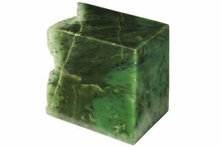 "Buy 4.4"" Tall, Polished Jade (Nephrite) Section - British Colombia - #117631"