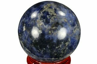 "1.6"" Polished Sodalite Sphere - Africa For Sale, #116144"