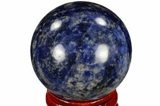 "Buy 1.6"" Polished Sodalite Sphere - Africa - #116155"