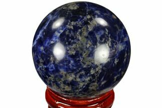 "1.6"" Polished Sodalite Sphere - Africa For Sale, #116156"