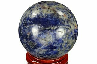"Buy 1.6"" Polished Sodalite Sphere - Africa - #116158"
