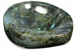 "Buy 5.7"" Polished, Flashy Labradorite Dish   - #117253"