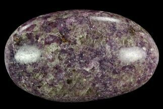 "Buy 3.35"" Sparkly, Purple Lepidolite Palm Stone - Madagascar - #119308"