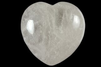 "Buy 1.6"" Polished Clear Quartz Heart - #121105"