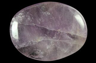 "1.7"" Polished Amethyst Flat Pocket Stones For Sale, #121112"