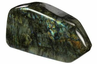 "Buy 6.8"" Flashy Polished Labradorite Section - Madagascar - #118813"