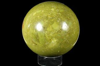 "5.45"" Polished Green Opal Sphere - Madagascar For Sale, #121952"