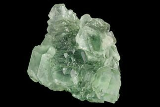 "1.7"" Green Fluorite Crystal Cluster - China For Sale, #122009"