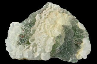 "Buy 4.6"" Stepped, Green Fluorite and Quartz - Fluorescent - #122026"