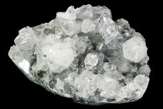 "3.6"" Wide, Gemmy Apophyllite Crystal Cluster - India For Sale, #122102"