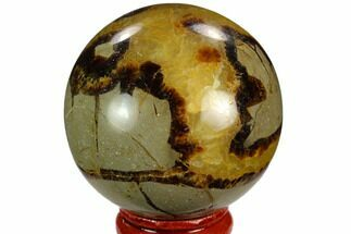 "Buy 2.1"" Polished Septarian Sphere - Madagascar - #122905"