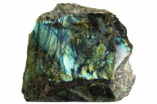 "Buy 9.4"" Wide, Single Side Polished Labradorite  - #123070"