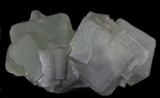 "3.8"" Cubic, Green Fluorite From China - Large Cubes For Sale, #39125"