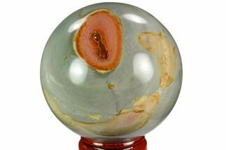 "Buy 2.3"" Polished Polychrome Jasper Sphere - Madagascar - #124132"