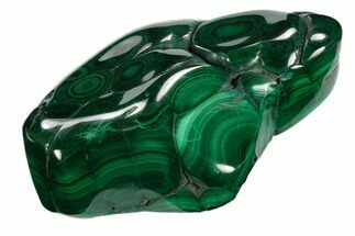 "Buy 3.1"" Polished Malachite Specimen - Congo - #125758"