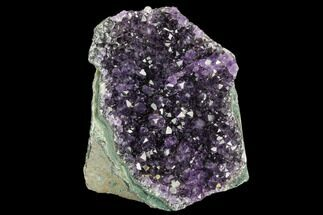 "3.2"" Dark Purple, Amethyst Crystal Cluster - Uruguay For Sale, #123800"