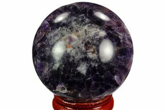 "Buy 1.85"" Polished Amethyst Sphere - #124516"