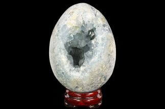 "Buy 5"" Crystal Filled, Celestine (Celestite) ""Egg"" - Madagascar - #126535"