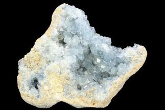"9.9"" Sky Blue Celestine (Celestite) Geode Section - Madagascar For Sale, #126539"