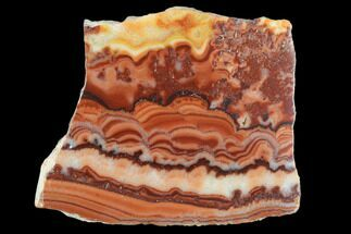 "1.85"" Polished Slab Of Rolling Hills Dolomite - Mexico For Sale, #126680"