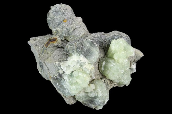 "2"" Green Prehnite Crystal Cluster - Morocco"