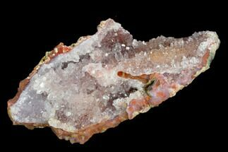 Quartz var. Amethyst & Hematite - Fossils For Sale - #127983