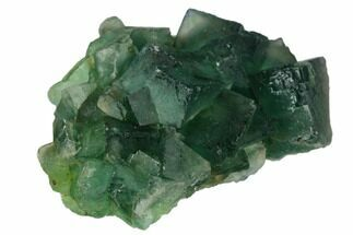 "2"" Green Fluorite Crystal Cluster - China For Sale, #128582"