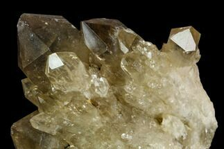 Quartz var. Citrine/Smoky - Fossils For Sale - #128421