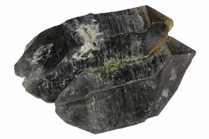 "1.25"" Double-Terminated Smoky Quartz Crystal - Tibet"