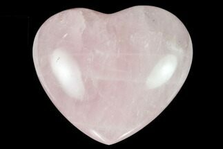 "Buy 2.85"" Polished Rose Quartz Heart - Madagascar - #129046"