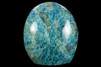 "3.7"" Free-Standing, Polished Blue Apatite - Madagascar For Sale, #127880"
