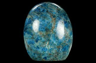 "3.9"" Free-Standing, Polished Blue Apatite - Madagascar For Sale, #127883"