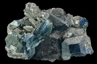 Fluorite & Quartz - Fossils For Sale - #128931