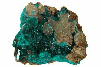 Dioptase - Fossils For Sale - #129090