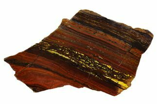 Tiger Iron Stromatolite - Fossils For Sale - #129300