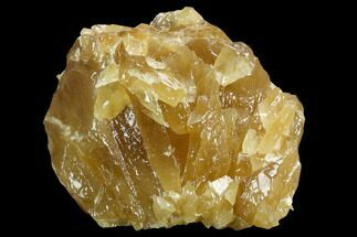 "7"" Free-Standing Golden Calcite Display - Chihuahua, Mexico For Sale, #129473"
