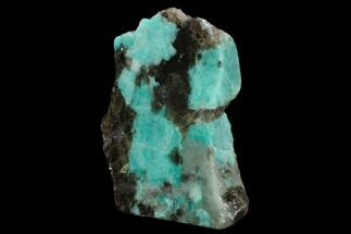 Microcline var. Amazonite & Quartz var. Smoky - Fossils For Sale - #129909