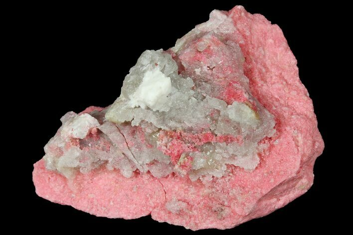 "3"" Pink Thulite Formation - Mjønes, Norway"