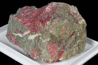 "Buy 2.8"" Vibrant Red Cinnabar on Rock - Cahill Mine, Nevada - #131284"